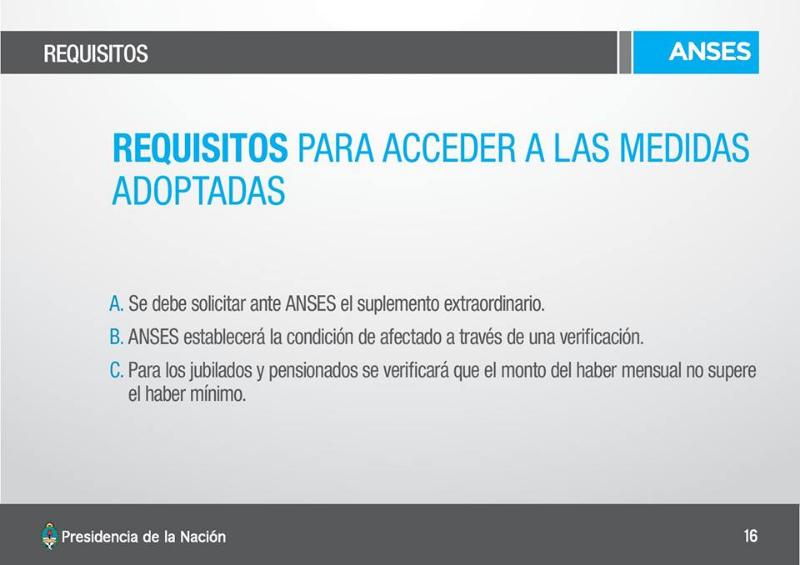 Asistencia a los inundados del Norte Argentino