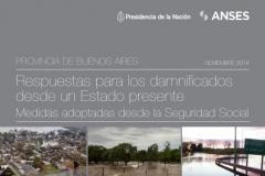 Asistencia del Estado a los damnificados por las inundaciones