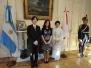 CFK con el Príncipe Akishino de Japón