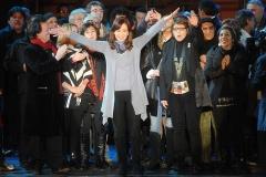 CFK en los festejos por el 25 de mayo