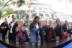 CFK inaugura el Sitio de Memoria ESMA