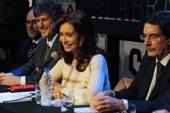 CFK inauguró el Encuentro Federal de la Palabra