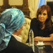 Cristina con Leonardo Favio
