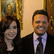 Cristina con Luis Miguel