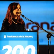 Cristina en Paraná, 25 de junio de 2013.