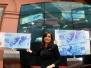 Cristina en el Dia del Veterano de Malvinas