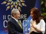Cristina en la cumbre de la CELAC en La Habana