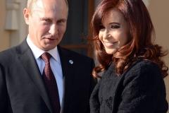 Cristina en la reunión del G20 en Rusia