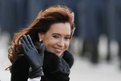 Cristina en Rusia, abril 2015
