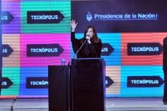 Cristina inaugura Tecnópolis