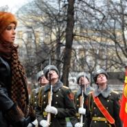 Cristina en visita oficial a Rusia.