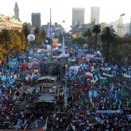 Festejos de la Revolución de Mayo y la Década Ganada en  Plaza de Mayo