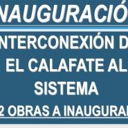 Obras para la conexión de El Calafate al Sistema Argentino Interconectado Eléctrico