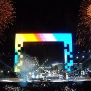 Centro de Cultura y auditorio para 3000 personas en el Parque del Bicentenario (Tecnópolis).-