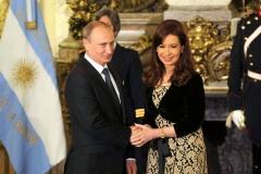 Visita oficial del presidente ruso Vladímir Putin