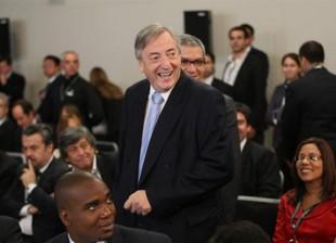 Nestor Kirchner Cumbre
