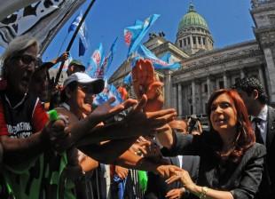 Cristina en la inauguración de las sesiones del Congreso 2011