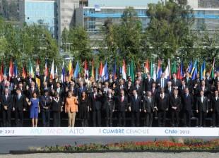 CFK en la Cumbre CELAC-UE