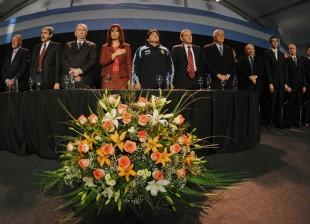 Cristina Kirchner y Futbol Para todos