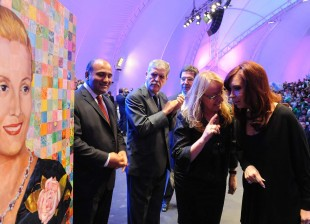Cristina Kirchner en el anuncio del Plan Ellas Hacen
