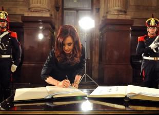 Cristina Fernandez de Kirchner inicio de sesiones ordinarias 2013