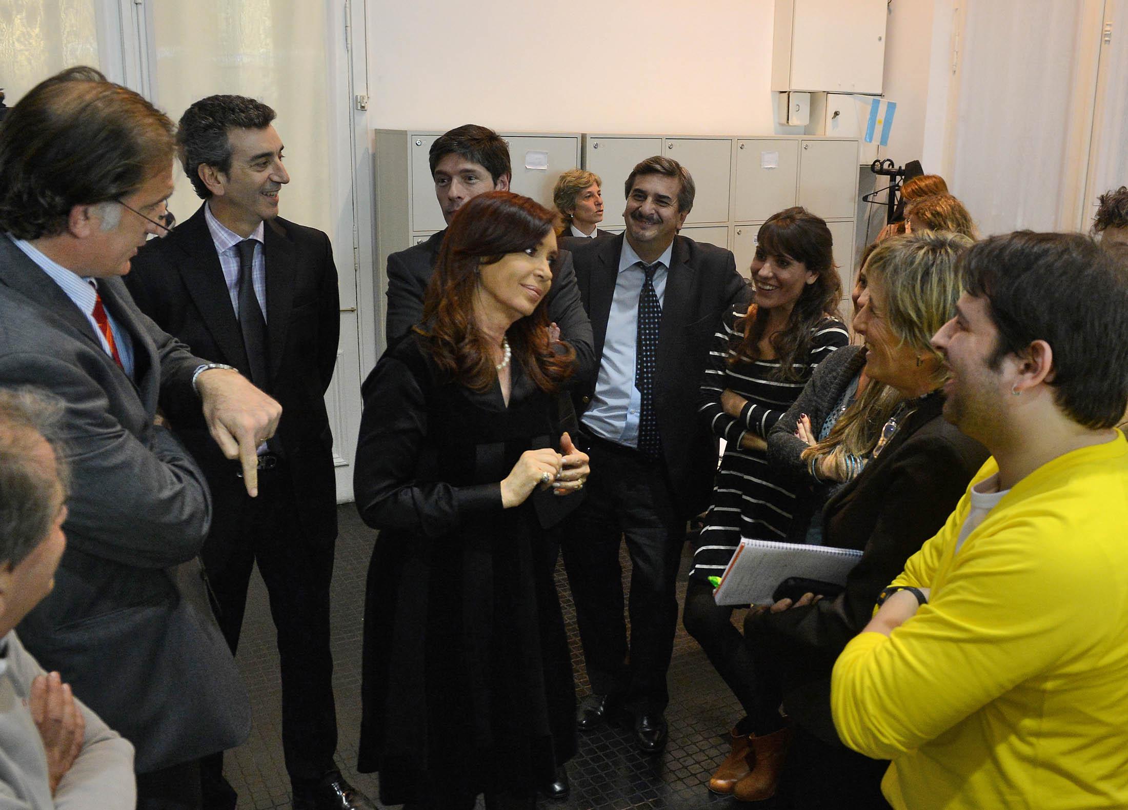 Cristina Dia del Periodista