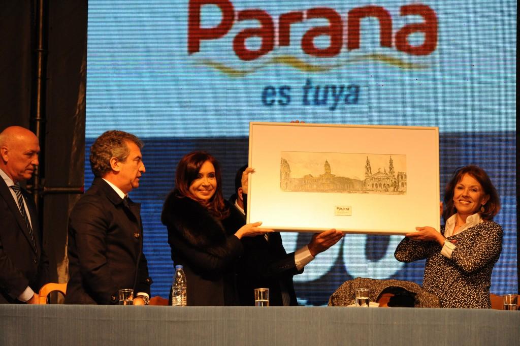 200 años de la fundación de la ciudad de Paraná.