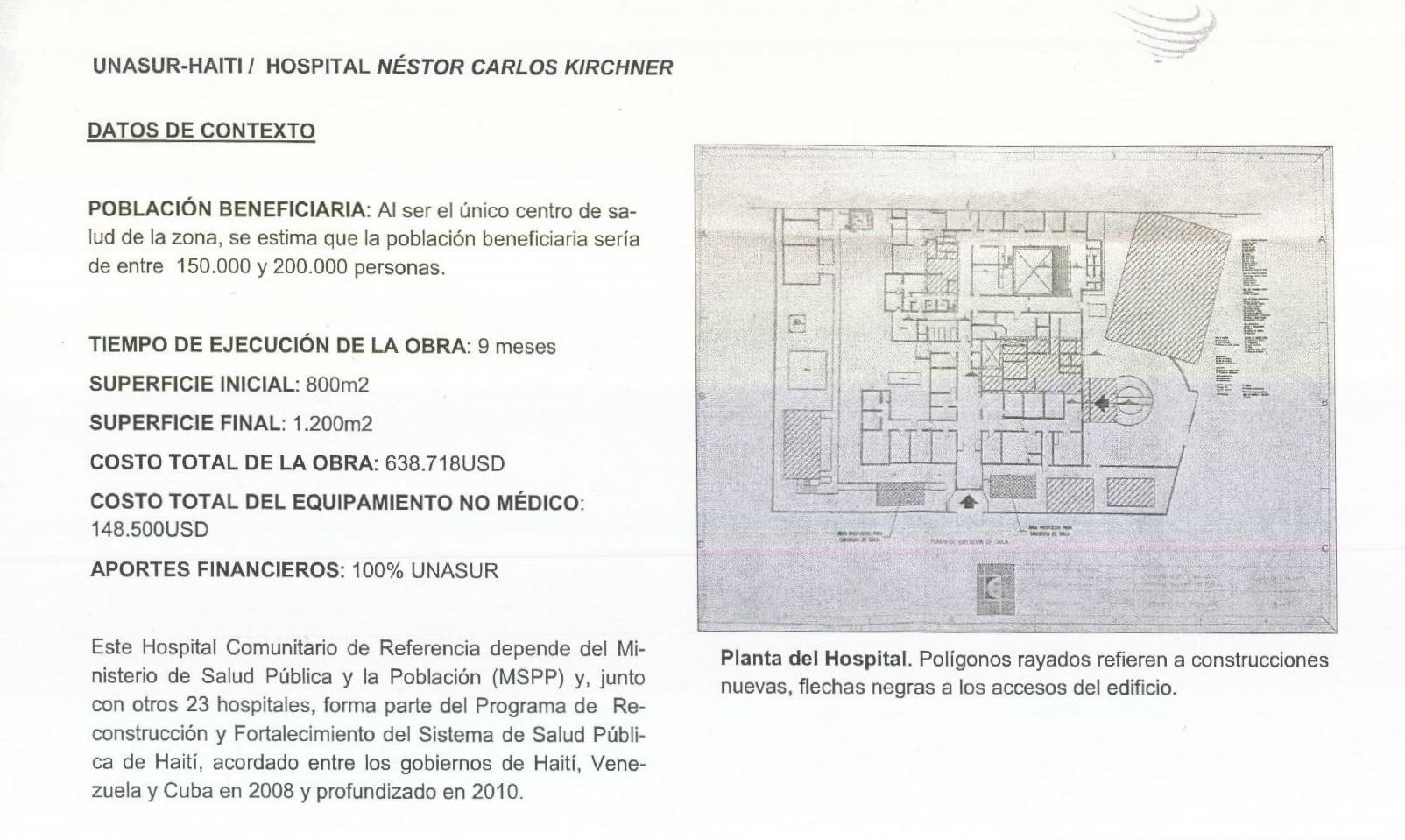 Hospital NK en Haití
