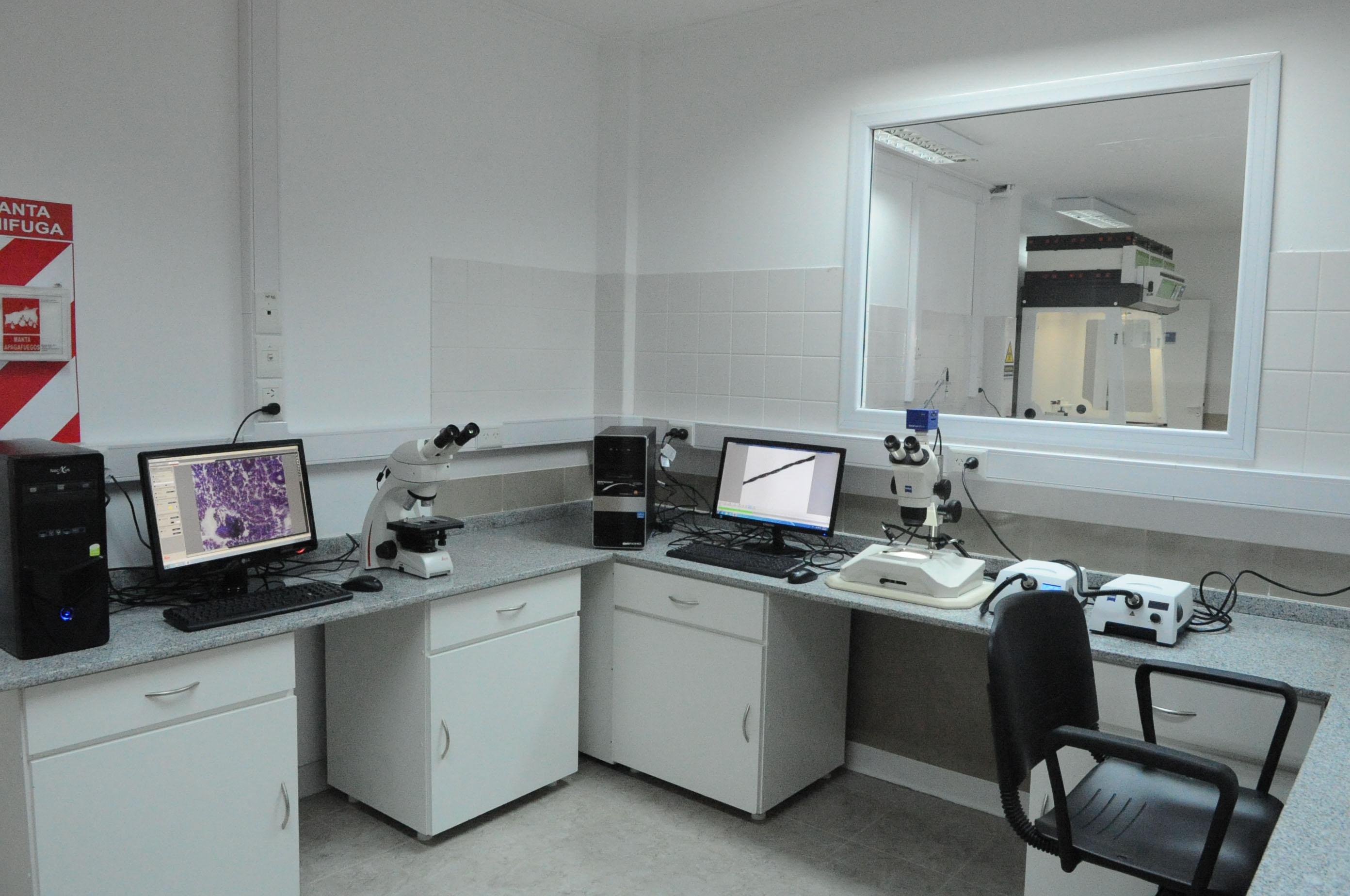 Laboratorio de Investigaciones Forenses de Río Gallegos.