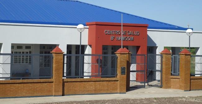 Centro de Salud en el Barrio NamQom en Formosa.