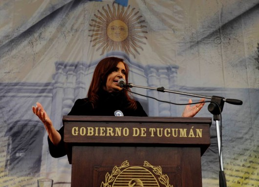 Cristina en Tucumán