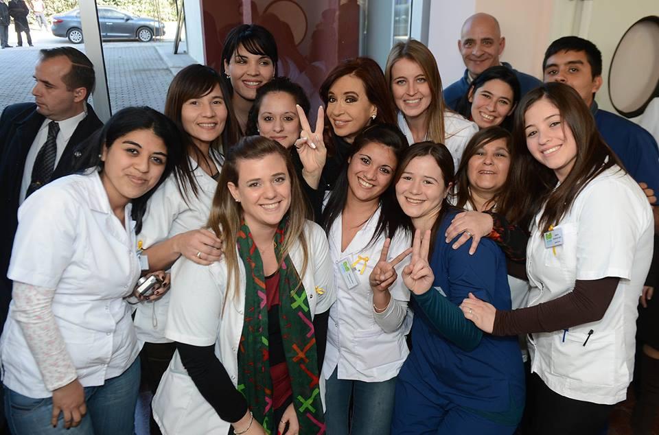 Inauguramos centros sanitarios en Morón, Berazategui y Formosa