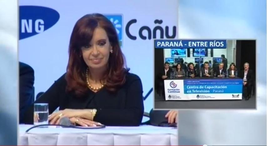NUEVO CENTRO DE FORMACIÓN PROFESIONAL DE PARANA: MINI ESTUDIO DE TELEVISION