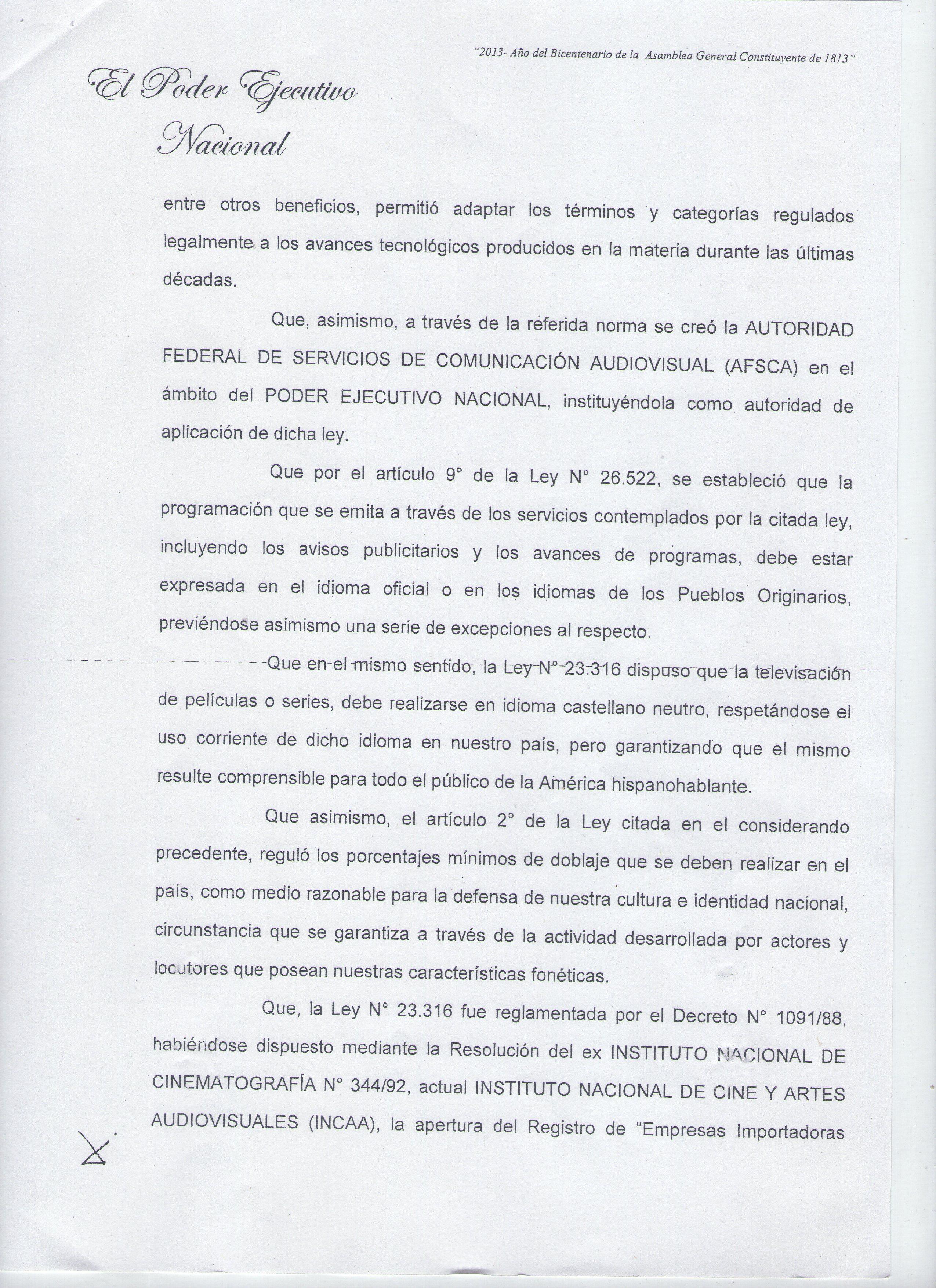 Proyecto de Ley - Traducciones