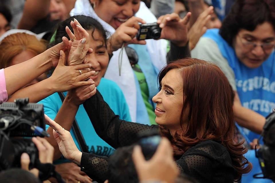 Cristina con organizaciones sociales en Jujuy