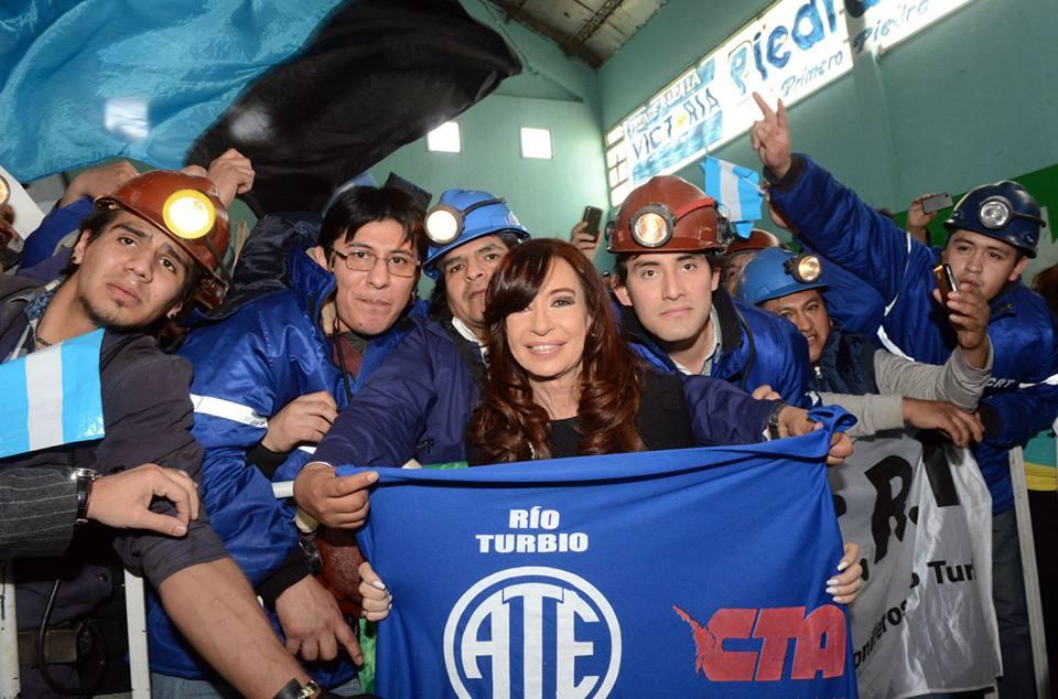 CFK en Río Gallegos