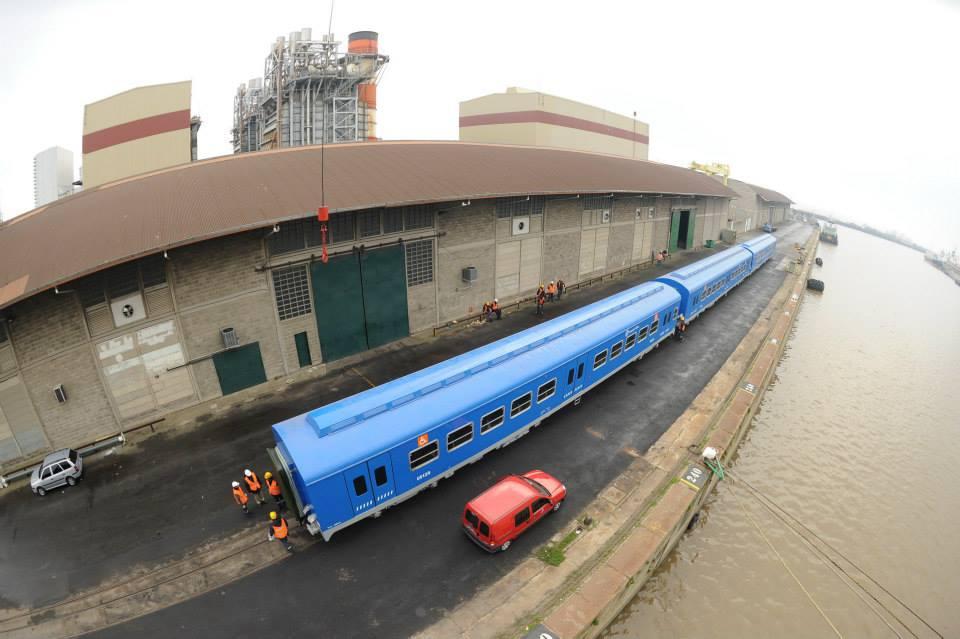 nuevos vagones de trenes chinos