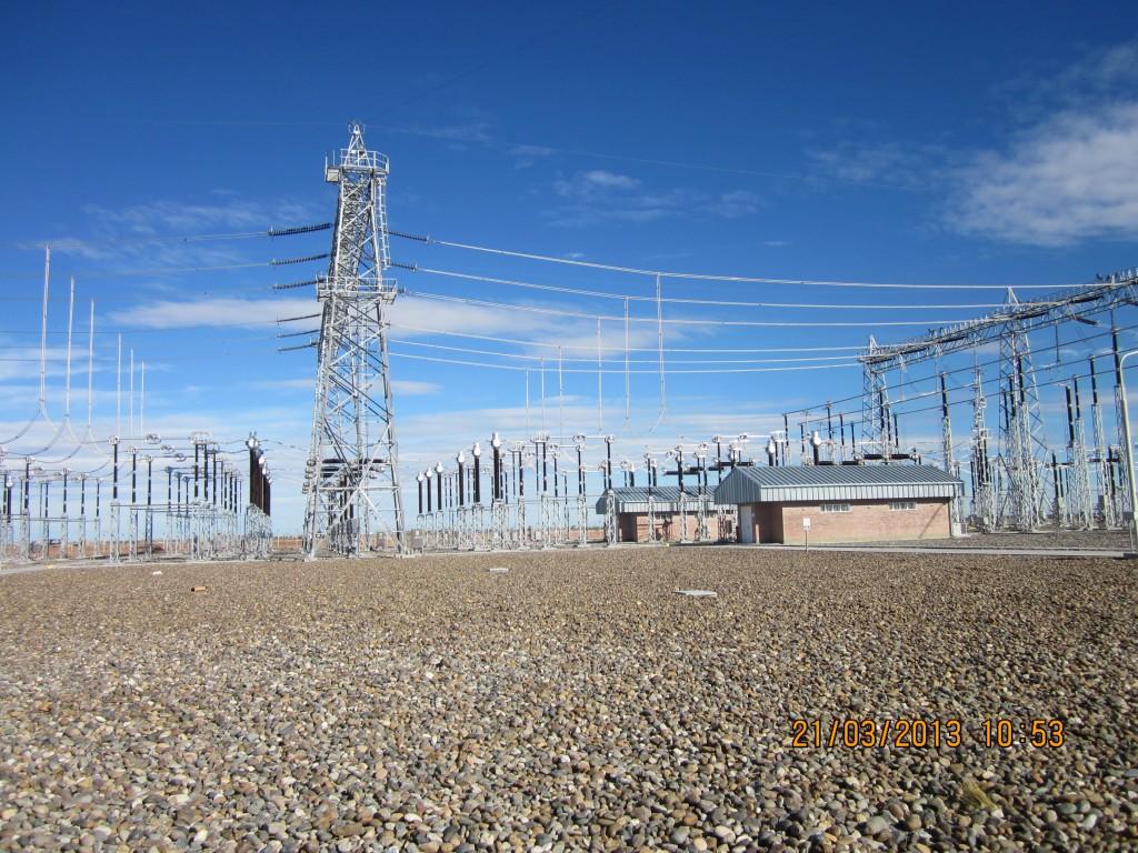 Acto de inauguración de la interconexión de Río Gallegos con el sistema eléctrico argentino
