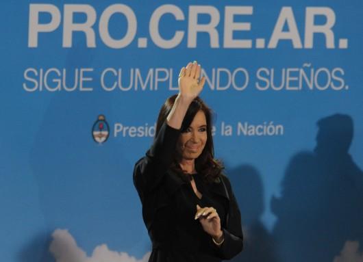 Lanzamiento de la nueva línea de créditos del PROCREAR para viviendas.