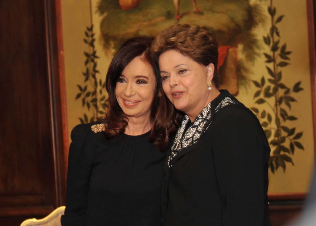 Cristina y Dilma Rouseff mantuvieron una reunión en Nueva York. 68ª Asamblea General de la ONU