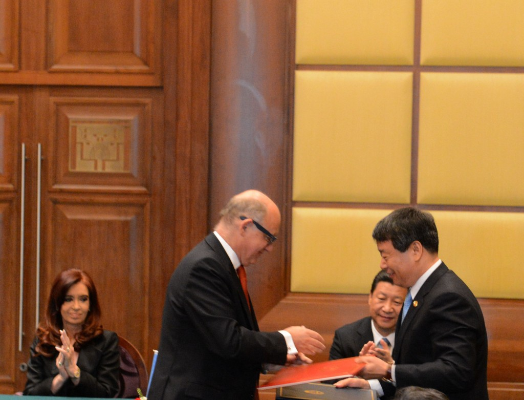 La Presidenta se reunió con su par de China y afirmó que se reforzarán los lazos de cooperación entre ambas naciones
