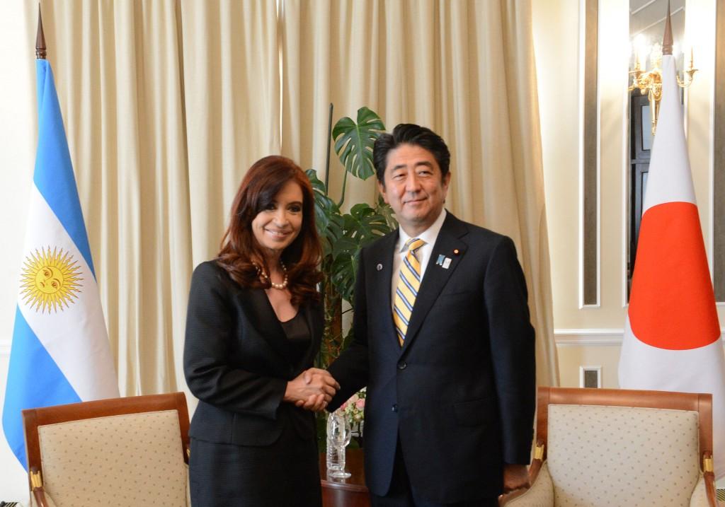 Cumbre del G20 en Rusia: Audiencia con el Primer Ministro de Japón