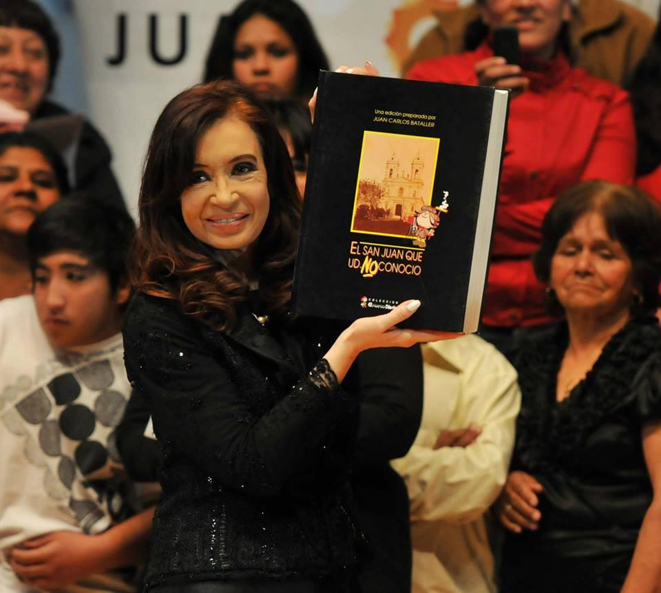 Cristina Kirchner en San juan