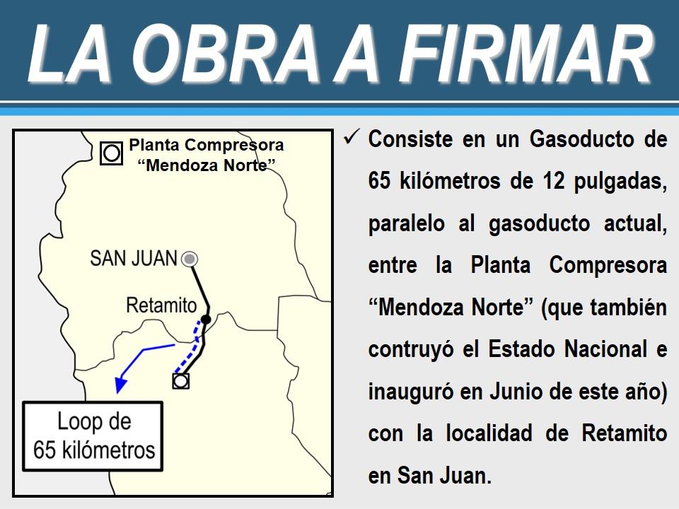 Gasoducto Mendoza San Juan