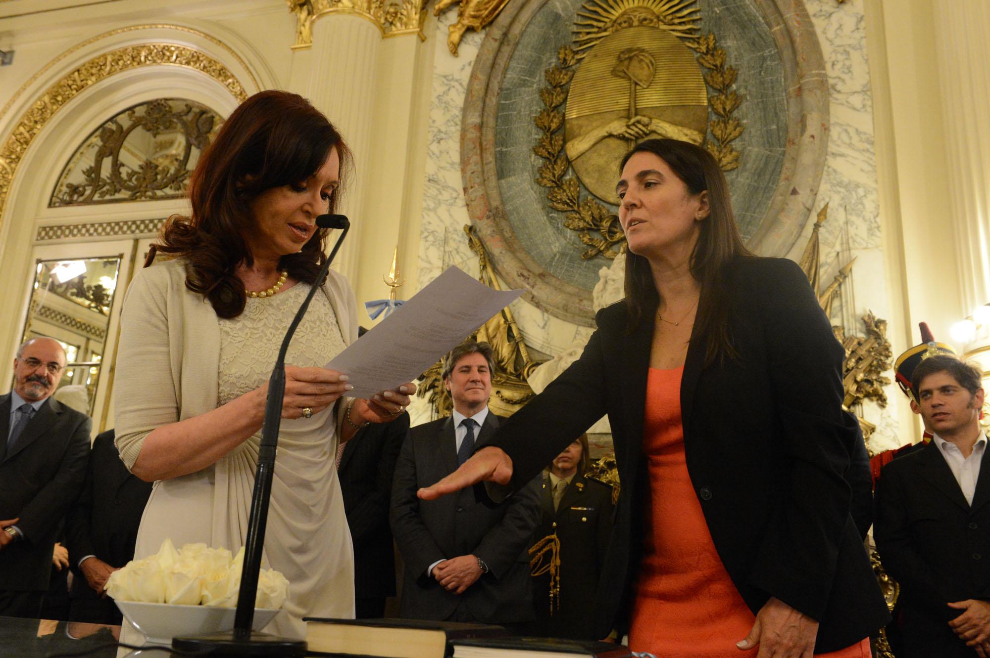 Jura de María Cecilia Rodríguez