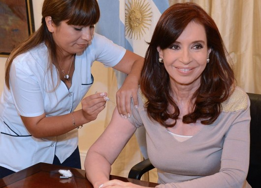Iniciamos la campaña de vacunación contra la influenza 2014.
