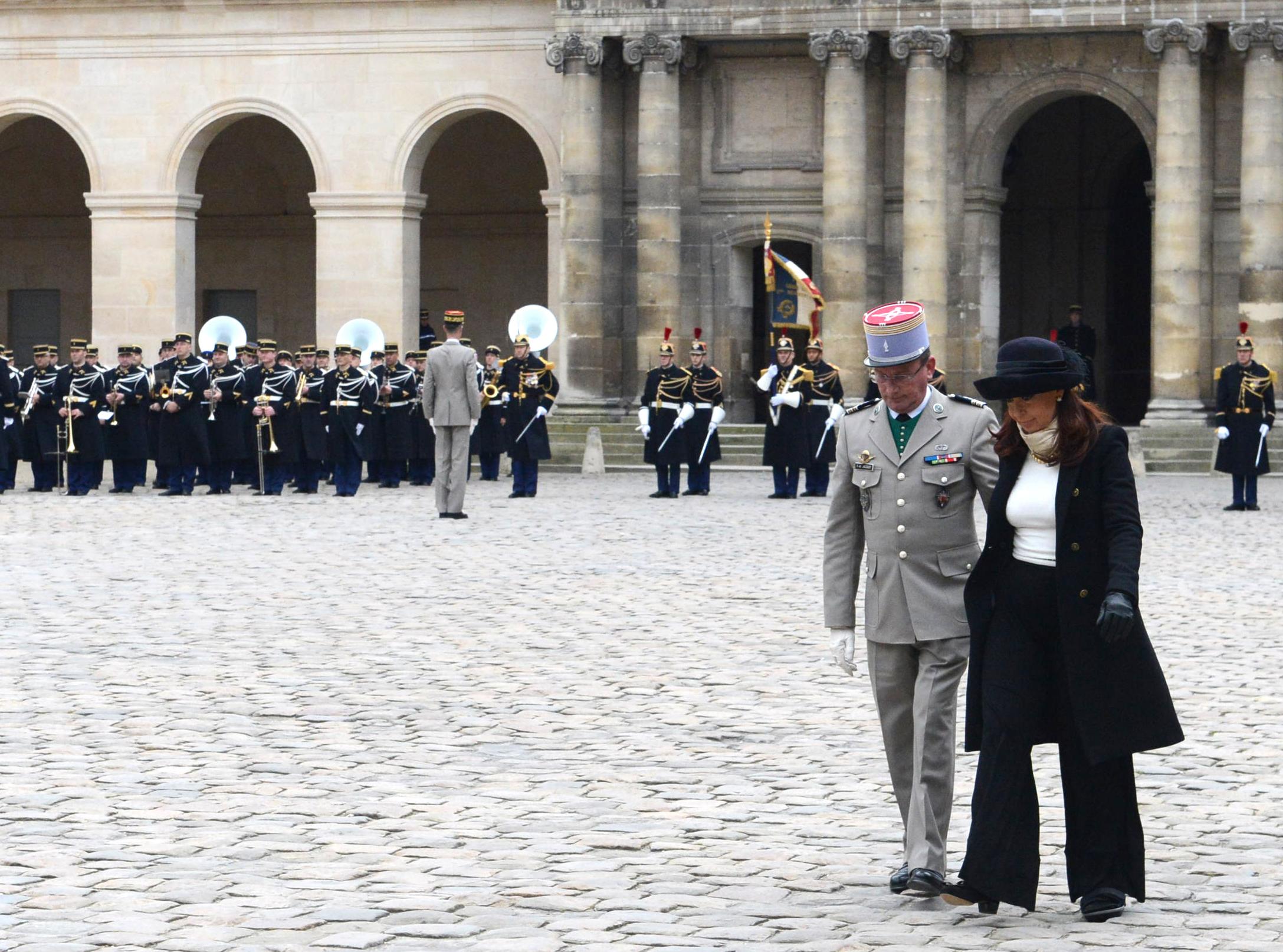 Cristina Kirchner en Paris