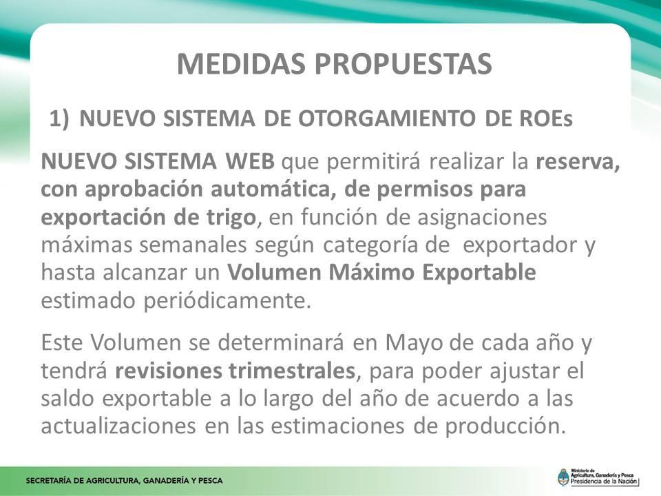 Creación del nuevo Sistema de Otorgamiento de ROEs.