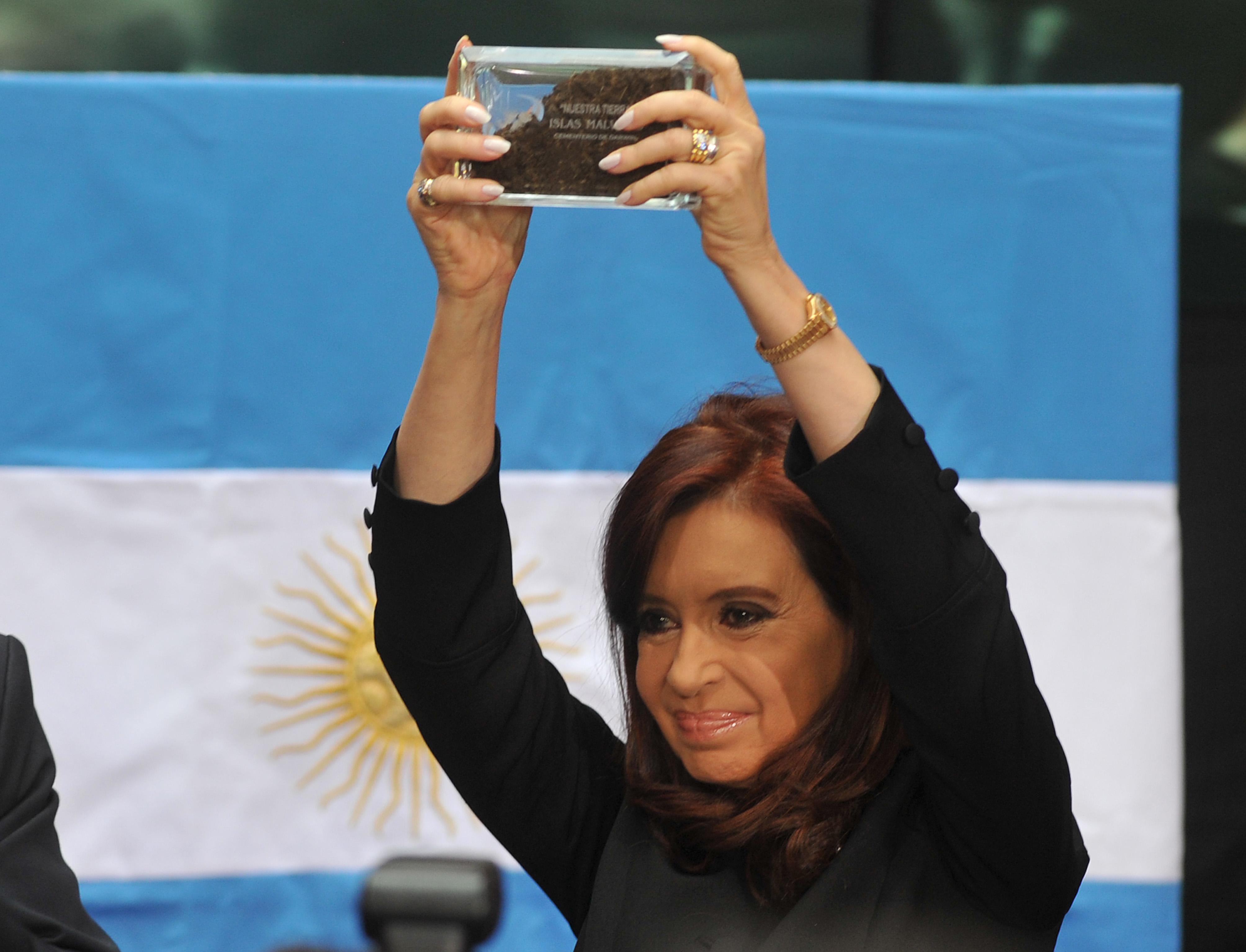 Cristina Acto Malvinas