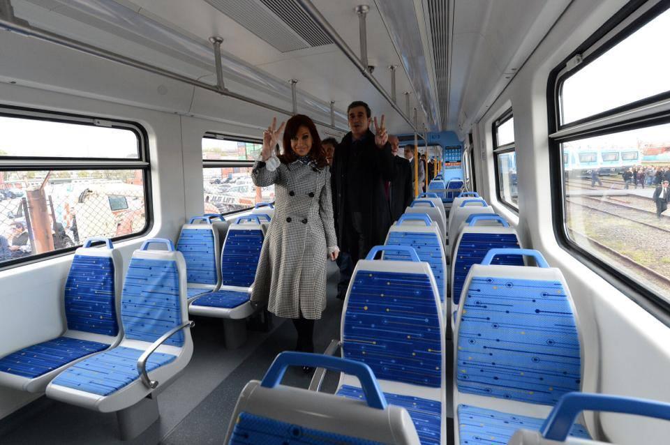 Nuevas formaciones completamente nuevas para el Tren Sarmiento
